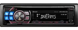 Alpine CDE-126BT receptor multimedia para coche - Radio para coche (MP3, 87,5 - 108 MHz, 153 - 281 kHz, LCD, Negro, 178 x 50 x 161 mm)