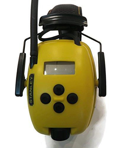 Stanley Sync Digital AM/FM/MP3 Radio Earmuff (RST-63012) by Stanley (Image #3)