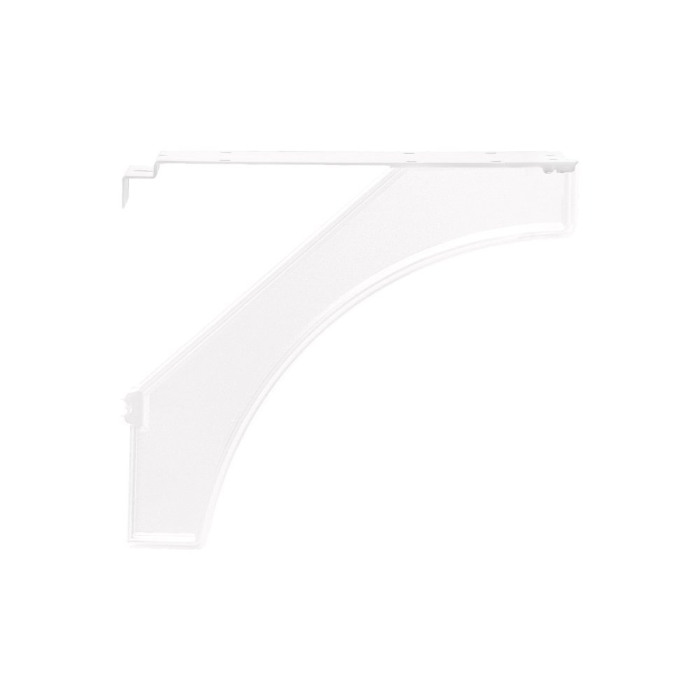 Salsbury Industries 4837WHT Arm Kit Replacement for Decorative Mailbox Post, Designer, White
