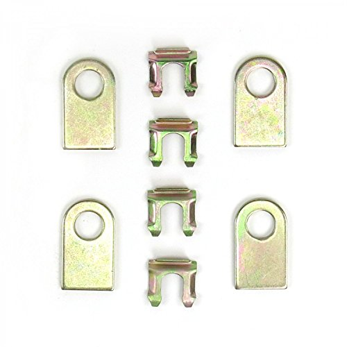 4 Tabs and Clips) 671 vintage bert accessories racing wide 5 (Racing Tab Kit)