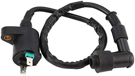 1 Pcs Good Performance Replacement Ignition Coil For Honda//TRX300//TRX 300//FourTrax 1988-2000 Black Black