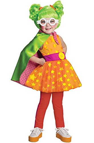 Lalaloopsy Deluxe Dyna Might Costume, Small (Lalaloopsy Halloween Makeup)