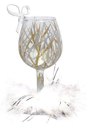 Santa Barbara Design Studio Lolita Holiday Mini-Wine Ornament, Tinsel