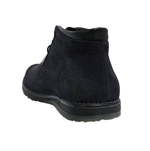 Scarpe 42 Nero Uomo Camoscio 40 Polacchine Stivaletti Numero 43 Casual Sneakers 44 Scamosciati 41 45 Invernali 7qwI7r5