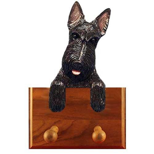 Michael Park Black Scottish Terrier Leash Holder