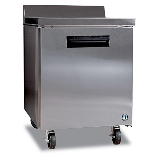 Hoshizaki CRMF27-W 27'' Commercial Series Worktop Freezer with 7.2 cu. ft. Capacity Anodized Aluminum Interior 1 Adjustable Shelf 115 Volts and Automatic Defrost: Stainless