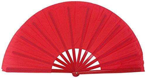 hand fan red - 3