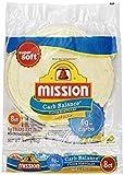 Mission Low Carb Soft Taco Flour Tortilla's 12oz./8 Ct. (Pack of 6) by Mission Ltd Larger Image
