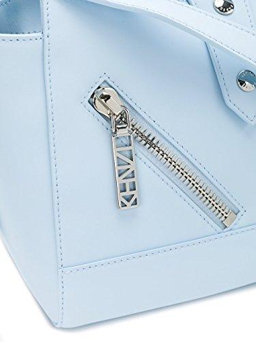 Kenzo Borsa A Mano Donna F662SA107L2564 Pelle Azzurro