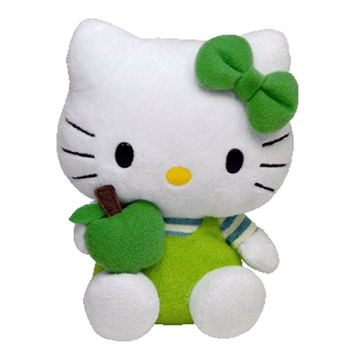 Hello-Kitty-Green-Apple-Beanie-Baby