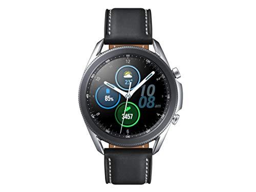 Samsung Galaxy Watch3 R840 Smartwatch (45mm Stainless Steel) International Version - Mystic Silver