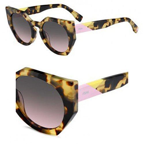 Fendi - FENDI FACETS FF 0151/S, Cat Eye, acetate, women, SPOTTED HAVANA/BROWN PINK(00F/EN), - Fendi Glasses Optical