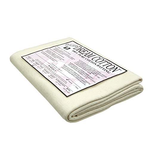 - Quilters Dream Natural Cotton Select Batting x 60in Throw