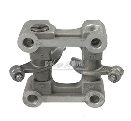 Complete Camshaft Kit (64mm Valve Rocker Arm Assembly Camshaft Seat GY6 50cc QMB139 Scooter)