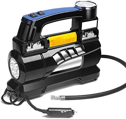 Mei Xu エアコンプレッサー - カーエアポンプダブルシリンダータイヤ電気自動車携帯用自動車高圧プラスポンプ車