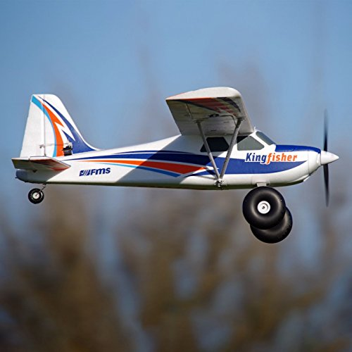 Kingfisher PNP, 1400mm with Wheels, Floats, Skis and Flaps