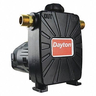 Dayton Utility Pump 1/2 HP 1 Ph 115V 8A ODP ()