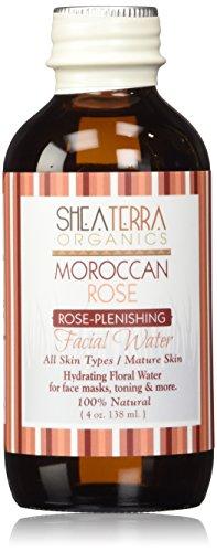 Shea Terra Eau de Rose du Maroc Distillate Water 4 oz