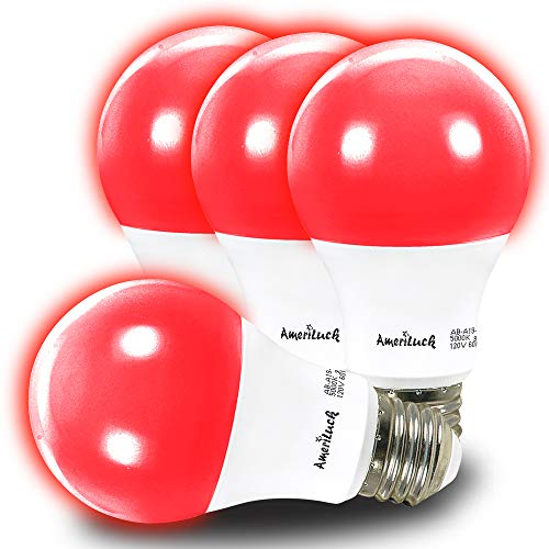 Blue And Red Led Light Bulbs in US - 4
