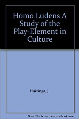 A Study of the Play-Element in Culture Homo Ludens