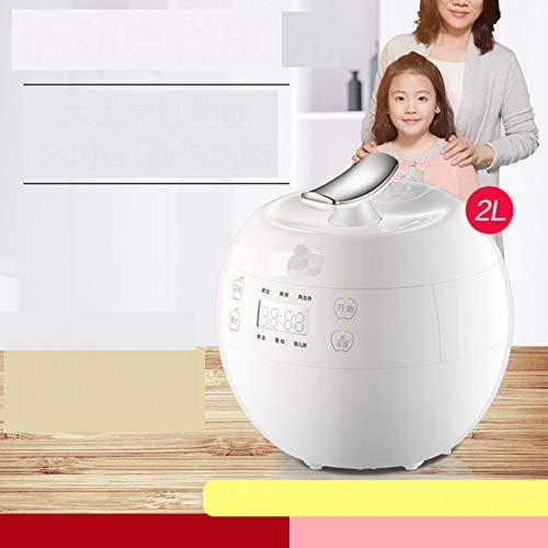電気炊飯器, 1-2 人ミニ家庭用小米スマート炊飯器蒸し器マルチ食品スティーマー-ホワイト  ホワイト B07HDPPDLB