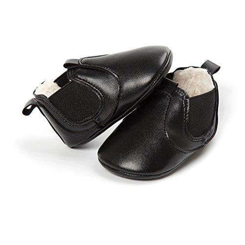 Kfnire Botas Antideslizantes de Invierno Zapatillas de Suela Blanda con Forro Polar Zapatos de beb/é