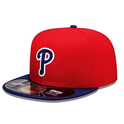 New Era Mens 59Fifty Diamond Tech Philadelphia Phillies Cap