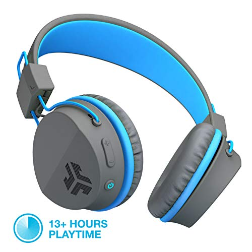 JLab Audio Neon Bluetooth On Ear Headphones, Folding with Un
