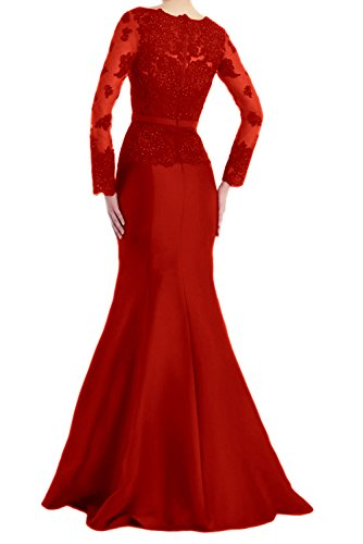 Ivydressing Navy Meerjungfrau Glamour Spitze Abendkleider Neck Braut V Langaem Mutterkleider Neu Lang P6rP7