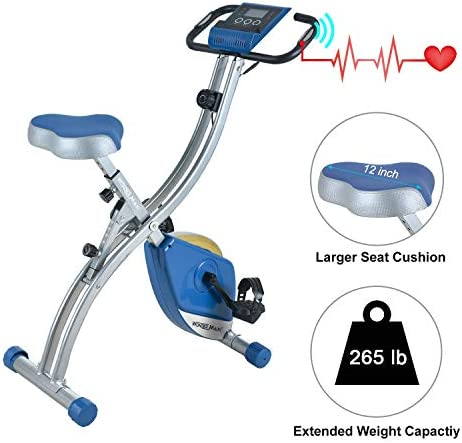Wonder Maxi Folding Magnetic Exercise Bike