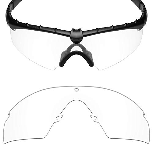 Mryok UV400 Replacement Lenses for Oakley Industrial M Frame 2.0 - HD Clear -