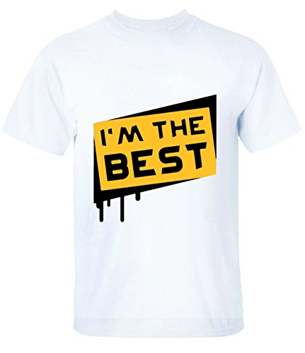 Lolyx i'm the best T-Shirt For Mens M white