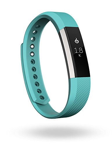 Fitbit Alta Fitness Tracker, Silver/Teal, Small