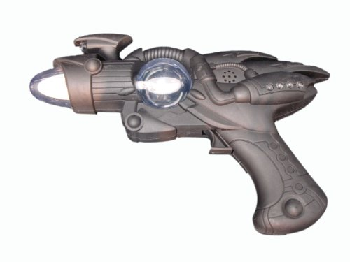 Retro Space Gun (WeGlow International Black Light Up Grip Space)