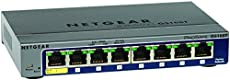 NETGEAR ProSAFE GS108T-200GES (8-Port Gigabit Smart Managed Switch 8 x 10/100/1000 - desktop)