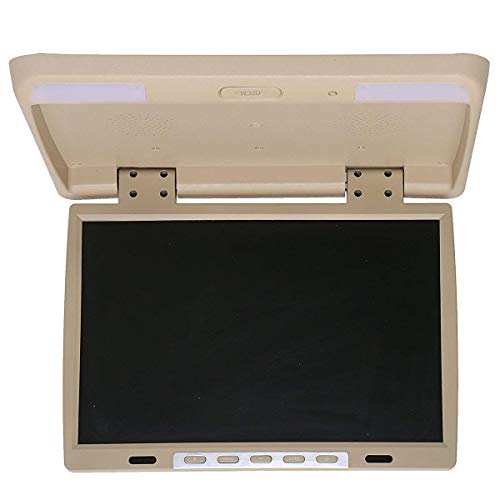 Car DVD Player HDMI TFT LCD DVD Roof Mount in Car Flip Down Overhead Monitor ()