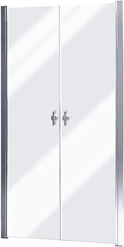 vidaXL Shower Enclosure Glass Door 80 cm: Amazon.es: Bricolaje y herramientas