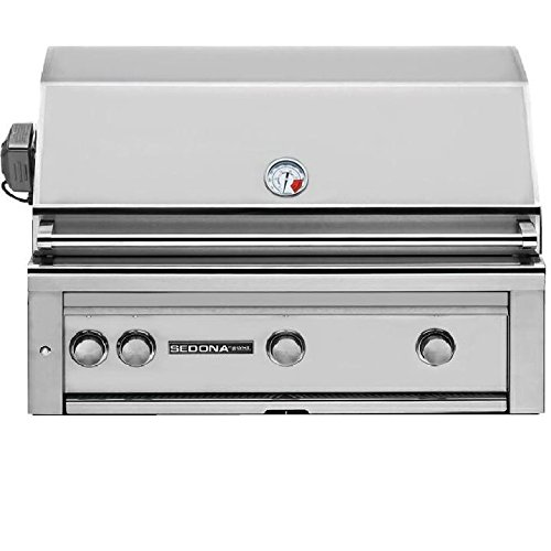Lynx L600PSR Sedona 36-Inch Built-In Natural Gas Grill with Pro Sear Burner and Rotisserie by Lynx