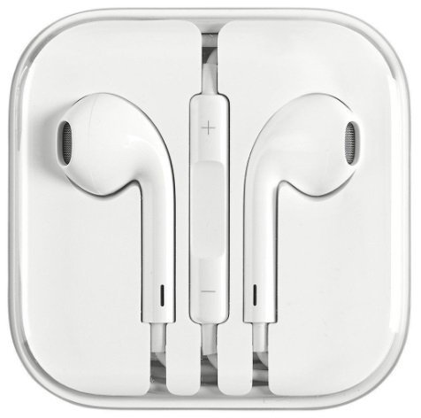 iPhone's Superior Bass Earphones/Headphone/Earbuds with Stereo Mic and Remote, 3.55mm Jack for iPhone 4,5,5S, 5 SE,6,6S, iPad, iPad Air/Mini, All Samsung Phones, Galaxy, Tablets, Laptops, PC and All other Music Systems and Compatible Devices. by A&B Traders CA