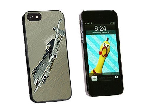 Graphics and More US Airforce A-10 Warthog Snap-On Hard Protective Case for iPhone 5/5s - Non-Retail Packaging - Black