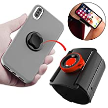 Phone Holder for Running Hiking,Detachable Workout Sports Arm Band,Quick Mount Phone Armband for iPhone 11 Pro Max/Xs Max/XS/XR/X/8 plus/8/7 Plus, Samsung Galaxy S20/S10 Plus/S10e/Google Pixel 3/2 XL