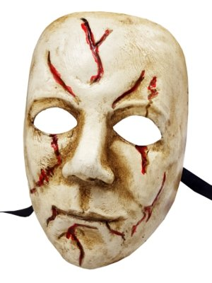 Deluxe Handcrafted Michael Myers Horror Movie Character FulL Face Venetian Masquerade Halloween mask -