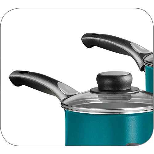 15-Piece Blue Teflon Coated Heat and Shatter Resistant Nonstick Cookware Set by Tramontina USA, Inc. (Image #4)