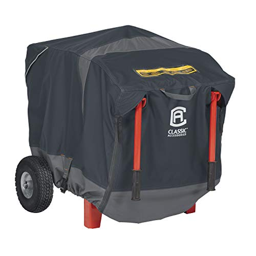 Classic Accessories StormPro RainProof Heavy Duty Generator Cover, Large