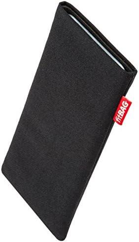 Nettoyage de l/'/écran fitBAG Jive Bleu en Tissu Pochette customis/ée adapt/ée Housse de Protection pour Samsung Galaxy S8 SM-G950F Fabriqu/é en Allemagne