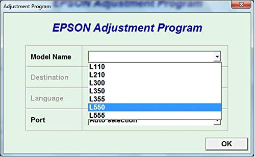 Adjustment Program Resetter Multi PC Compatible With Epson
