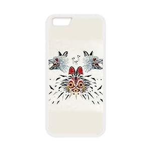 Special Design Cases iPhone 6s 4.7 Inch Cell Phone Case White Princess Mononoke Akmkx Durable Rubber Cover