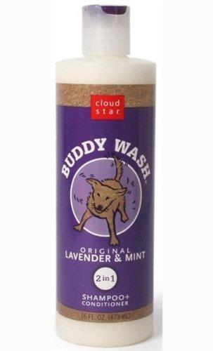 Cloud Star Buddy Wash Lavender & Mint 2-in-1 Dog Shampoo + Conditioner 32 Oz by Buddy Biscuits (Image #2)