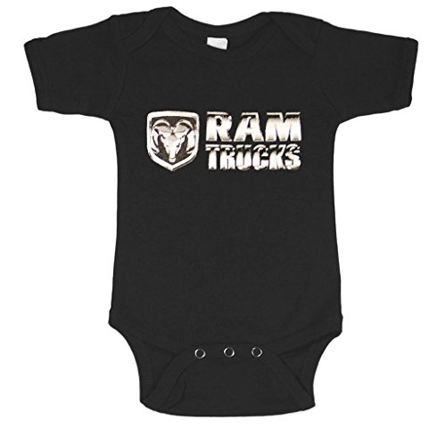 Dodge Ram Trucks infant one piece baby body shirt snap suit