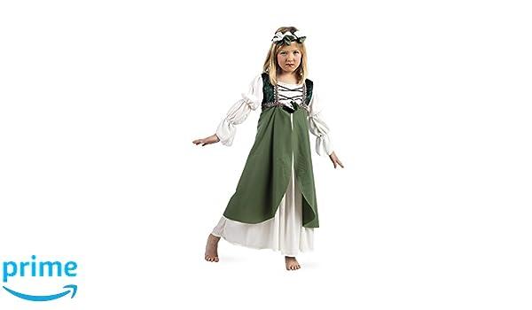 Limit Sport - Disfraz infantil Clarisa medieval, 7-9 años ...